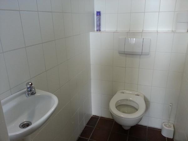 Toiletten.